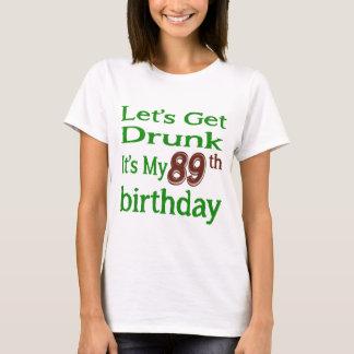 It's My 89th Birthday T-Shirt