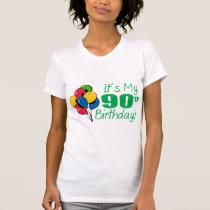 It's My 90th Birthday (Balloons) T-Shirt