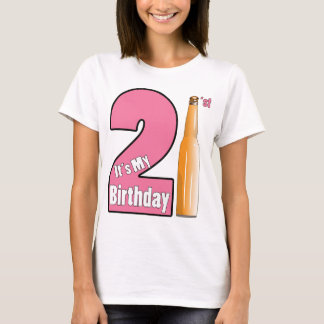 It's My birthday 21 years old T-Shirt