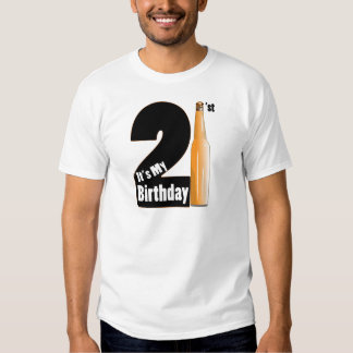 It's My birthday 21 years old T Shirt