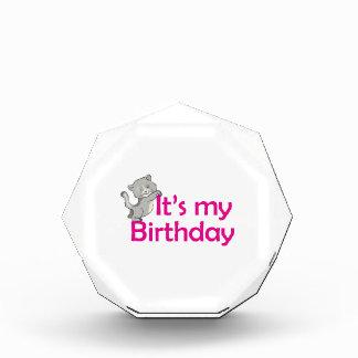 Its My Birthday Acrylic Award