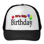 It's My Birthday Balloons Birthday Hat Trucker Hat
