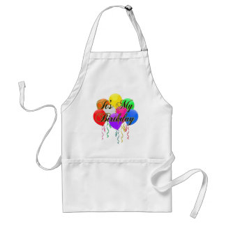 It's My Birthday Balloons Cooking Apron