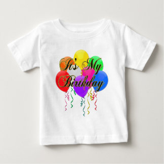 It's My Birthday Balloons T-Shirt