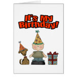 Its my birthday (BOY) Greeting Cards
