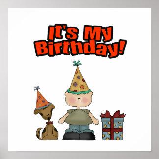 Its my birthday (BOY) Poster
