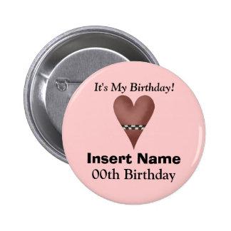 It's My Birthday Button