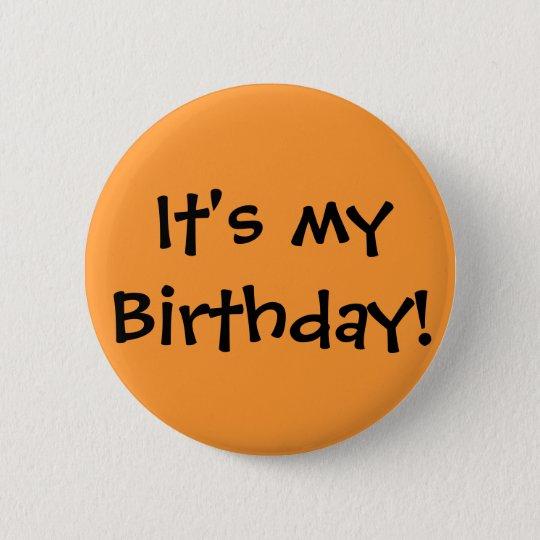 It's my Birthday! Button