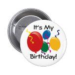 it's my birthday, birthday pin, birthday