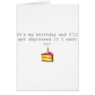 It's my birthday card