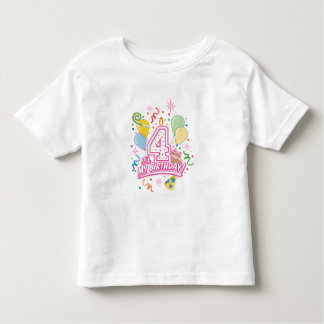 It's My Birthday! Four Year Old Girls Tee