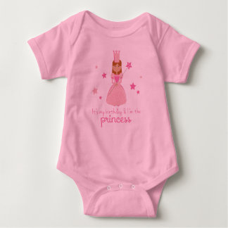 It's My Birthday & I'm the Princess Baby Bodysuit