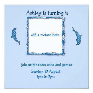 it's my birthday custom invitation