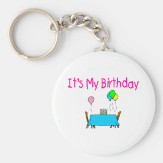 It's My Birthday Keychain