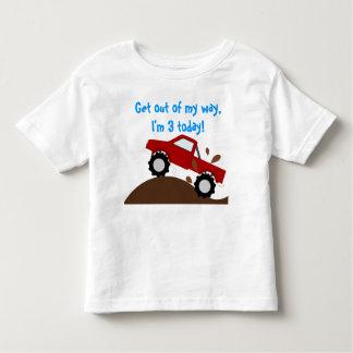It's My Birthday Monster Truck Toddler T-shirt