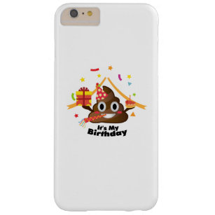 Its My Birthday Poop Emoji Kids Boy Girl Party Barely There IPhone 6 Plus Case