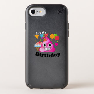 It's My Birthday Poop Emoji  kids Boy Party Speck iPhone Case