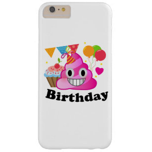 Its My Birthday Poop Emoji Kids Girl Party Barely There IPhone 6 Plus Case