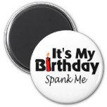 Its My Birthday Spank Me Refrigerator Magnet