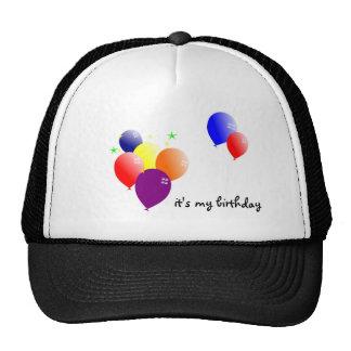 it's my birthday trucker hat