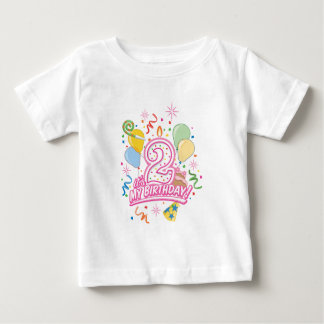 It's My Birthday! Two Year Old Girls Tee