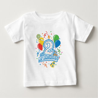 It's My Birthday! Two Year Old Toddler Tee