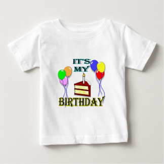 It's My Birthday with Cake T-Shirt