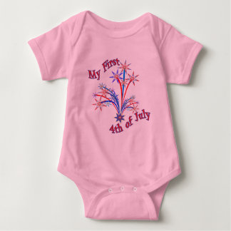 It's My First 4th of July Baby Shirt