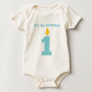 It's My First Birthday Baby Bodysuit