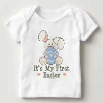 It's My First Easter Bunny Infany Long Sleeve Tee