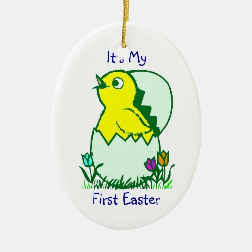 It's My First Easter - Ornament