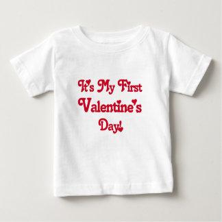 It's My First Valentine's Day T Shirt