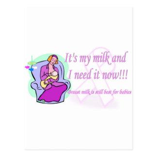 Its my milk.jpg post cards