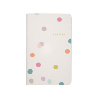 It's my Party Pocket Journal - Tangerine