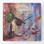 It's My Party Square Wallclocks