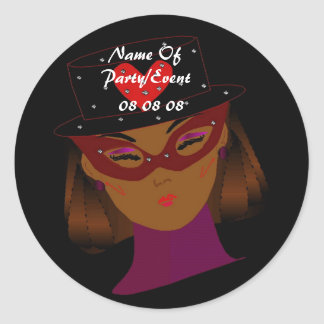 """It's My Party"" Sticker Sticker"