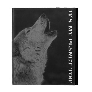 It's my planet too! wolf case iPad case