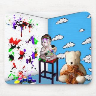 It's my room I'll paint it how I want to Mouse Pad