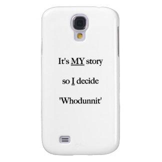 It's my Story Black Samsung S4 Case