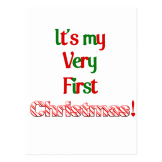 It's my very first Christmas Postcard