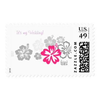 It's my wedding in Hawaii Post Stamp