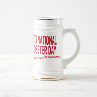 It's National Lobster Day Beer Stein
