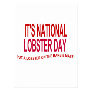 It's National Lobster Day Postcard