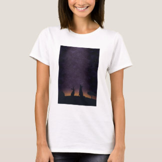 Its nice to stargaze with friends T-Shirt