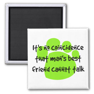 It's no coincidence... 2 inch square magnet