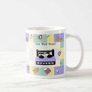 It's no fun to be sick - Get Well Soon Coffee Mugs