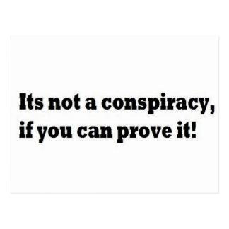 Its not a conspiracies postcard