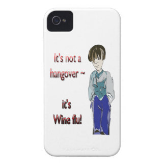It's not a Hangover, it's Wine flu! humorous Gifts iPhone 4 Cover