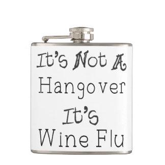 It's Not A Hangover, It's Wine Flue Flasks