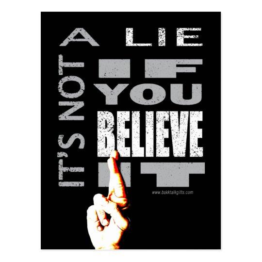 It's Not A Lie... Postcard